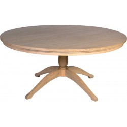 Neptune Henley 150cm Round Pedestal Oak Table