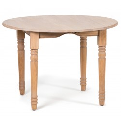 Neptune Sheldrake 110 – 270cm Round Extending Oak Table
