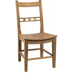 Neptune Suffolk Seasoned Oak Dining Chair