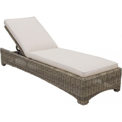 Neptune Murano Sunlounger with Natural Cushion
