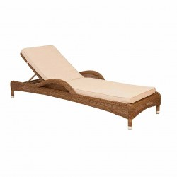 Alexander Rose San Marino Adjustable Sunbed with Cushion