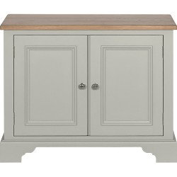Neptune Chichester 3ft Low Storage/TV Cupboard - Limestone