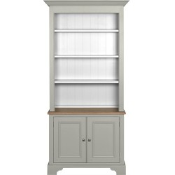 Neptune Chichester 3ft Original Bookcase - Shingle