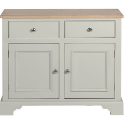 Neptune Chichester 3ft 6 Sideboard - Shingle