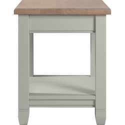 Neptune Chichester 45cm Lamp Table - Shingle