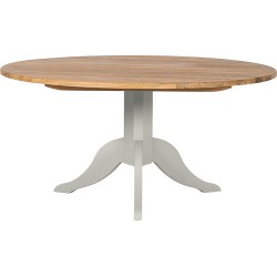 Neptune Chichester 120cm Round Pedestal Table - Shingle