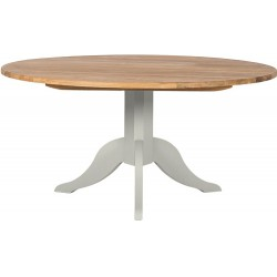 Neptune Chichester 150cm Round Pedestal Table - Shingle