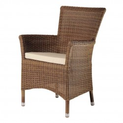 Alexander Rose San Marino Square Top Armchair with Cushion