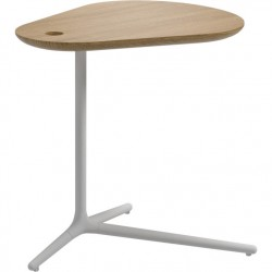 Gloster Trident Side Table - White