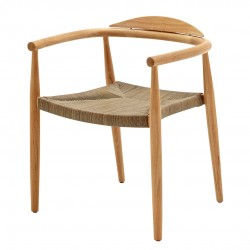 Gloster Dansk Stacking Chair with Arms