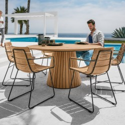 Gloster Whirl & William 6 Seater Dining Set