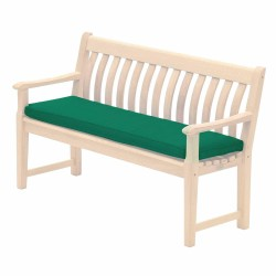 Alexander Rose Polyester 4ft Bench Cushion - Ecru
