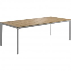 Gloster Carver 220cm x 100cm Rectangular Table