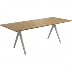 Gloster Split 220cm x 92cm Rectangular Table
