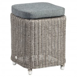 Alexander Rose Monte Carlo Casual Dining Stool with Cushion