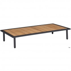 Alexander Rose Beach Lounge 8803 Coffee Table with Roble Top