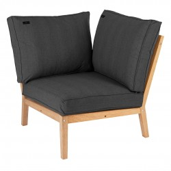 Alexander Rose Roble Modular Corner Seat with Cushions