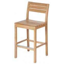 Barlow Tyrie Bermuda Teak High Dining Side Chair