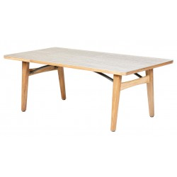 Barlow Tyrie Monterey 200cm Rectangular Dining Table with Frost Ceramic Top