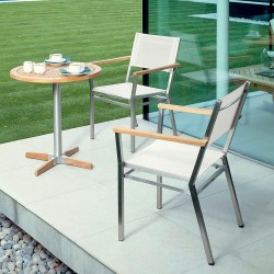 Barlow Tyrie Equinox 2 Seater Dining Set