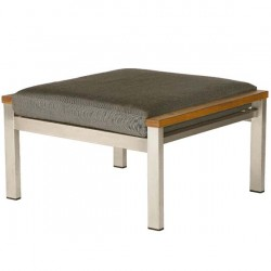 Barlow Tyrie Equinox Deep Seating Ottoman with Cushion
