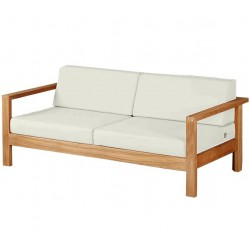Barlow Tyrie Linear Deep Two Seater Settee with Cushions