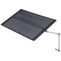 Barlow Tyrie Stainless Steel Sunlounger Sunshade