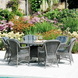 Alexander Rose Monte Carlo 6 Seater Dining Set
