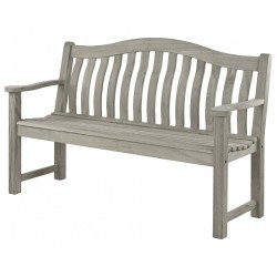 Alexander Rose Old England Grey Painted Turnberry 5ft Bench