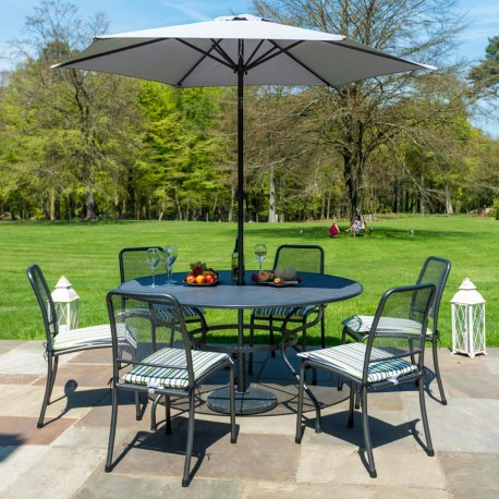 Alexander Rose Portofino 6 Seater Dining Set