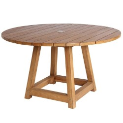 Sika Design George 120cm Round Teak Dining Table