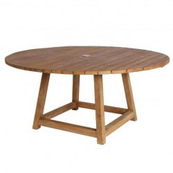 Sika Design George 160cm Round Teak Dining Table