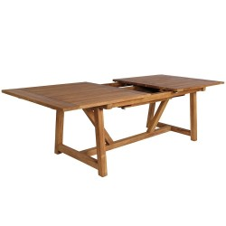 Sika Design George Rectangular Extending Teak Dining Table