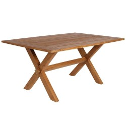 Sika Design Colonial 160 x 100cm Rectangular Teak Dining Table