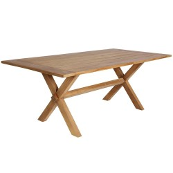 Sika Design Colonial 200 x 100cm Rectangular Teak Dining Table