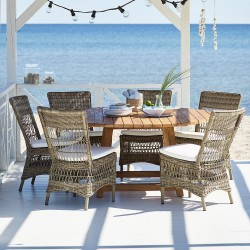 Sika George & Marie 6 Seater Dining Set