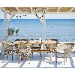 Sika Colonial & Emma 6 Seater Dining Set