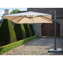Bramblecrest Chichester 3 x 3m Square Side Post Parasol