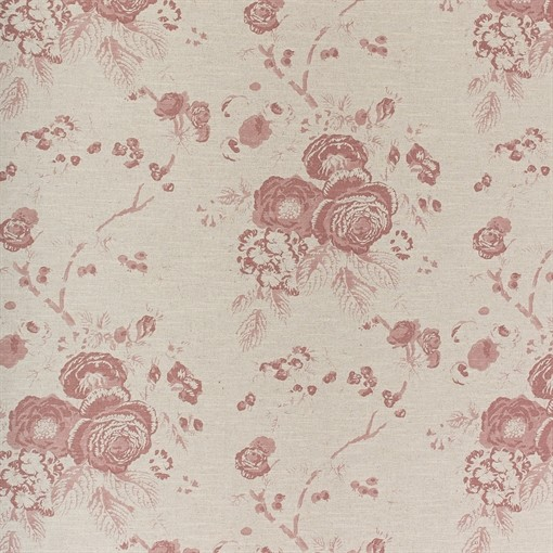 Printed Linen (Emma Old Rose)