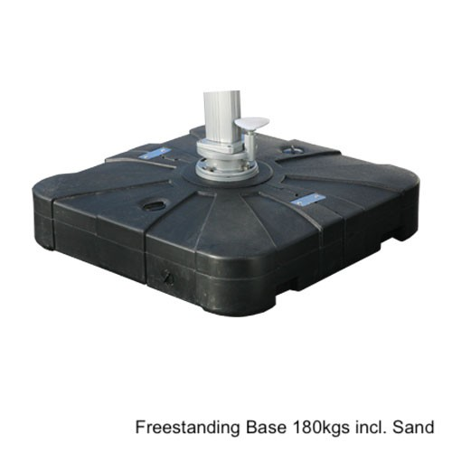 Freestanding Base 180kgs includes Sand