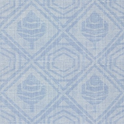 Printen Linen Etched (Mabel Flax Blue)
