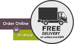 Free delivery on all order over £299