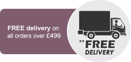 Free delivery on all orders over £299